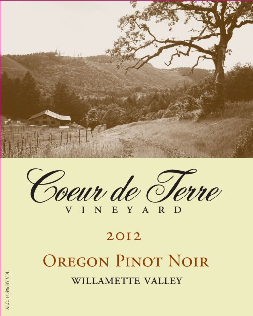 2012 Oregon Pinot Noir