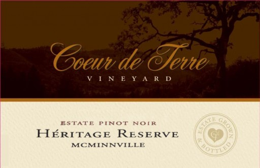 2015 Heritage Reserve Estate Pinot Noir