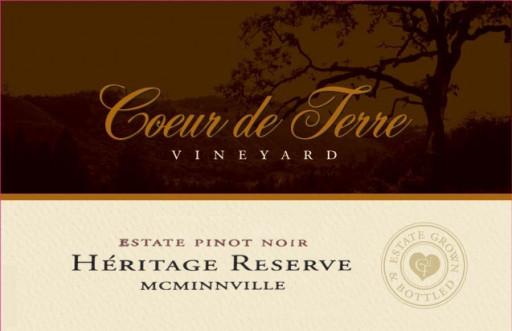 2018 Heritage Reserve Estate Pinot Noir