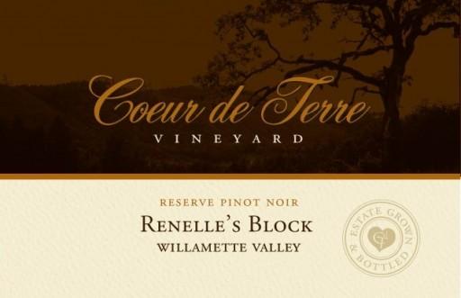 2015 Renelle's Block Reserve Pinot Noir