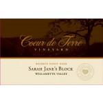 2016 Sarah Jane's Block Reserve Pinot Noir