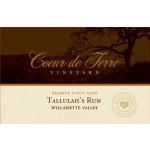 2012 Tallulah's Run Reserve Pinot Noir