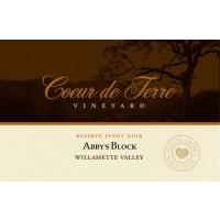 2010 Abby's Block Reserve Pinot Noir