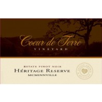 2013 Heritage Reserve Estate Pinot Noir