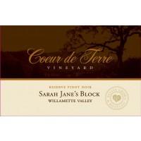2012 Sarah Jane's Block Reserve Pinot Noir