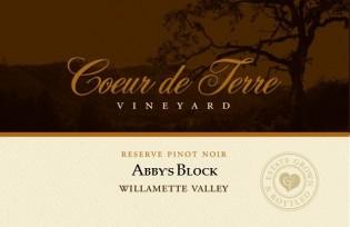 2016 Abby's Block Reserve Pinot Noir