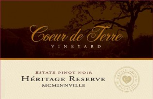 2016 Heritage Reserve Estate Pinot Noir