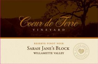 2018 Sarah Jane's Block Reserve Pinot Noir