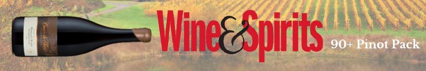 Wine and Spirits Pinot pack
